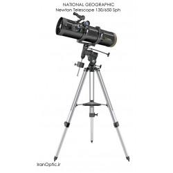 تلسکوپ نیوتنی 130/650 نشنال جئوگرافی - NATIONAL GEOGRAPHIC Newton Telescope 130/650 Sph