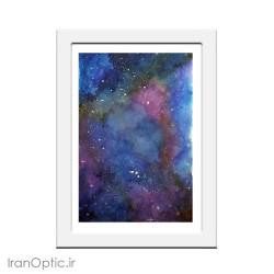 تابلو نقاشی سفری به قلب کهکشان