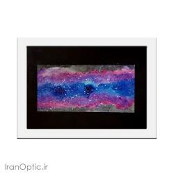 تابلو نقاشی راه کهکشان رویایی