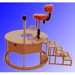 سکوی رصدخانه متحرکت (موتورداد)