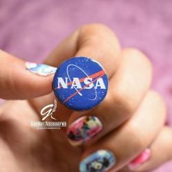انگشتر ناسا (قطر 2 سانتیمتر)