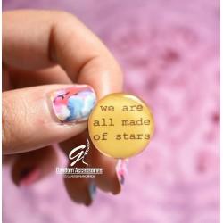 """انگشتر """"همه ما از ستارگان ساخته شدیم"""""""