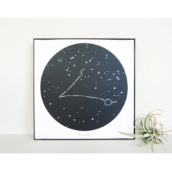 تالبو صورت فلکی ماهی - Constellation art Pisces KH201