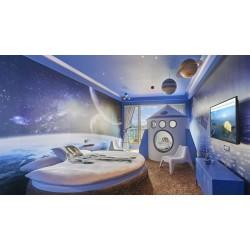 طراحی اتاق کودک به سبک نجومی - طرح 1