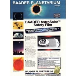 AstroSolar Safety Film (20cmx30cm) ND 5.0
