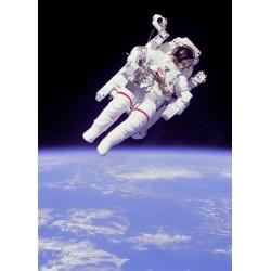 پوستر انسان در فضا