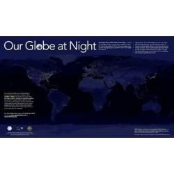 پوستر زمین در شب ( Our Globe at Night )