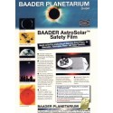 فیلتر مایلار رصد خورشید 10x14سانتیمتر - AstroSolar Safety Film (10cmx14cm) ND 5.0