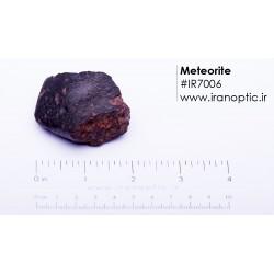 شهاب سنگ با پوسته، کد IR7006 با وزن 84 گرم