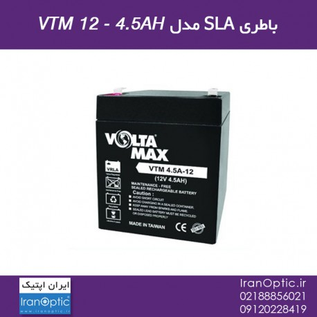 باطری SLA مدل VTM 12-4.5AH