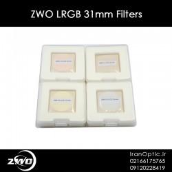 ZWO LRGB 31mm Filters