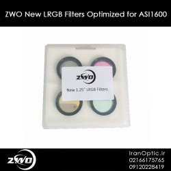 ZWO New LRGB Filters Optimized for ASI1600
