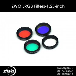 ZWO LRGB Filters-1.25-inch