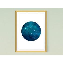 تابلو صورت فلکی جوزا (دوپیکر )