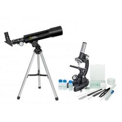 تلسکوپ و میکروسکوپ شکستی کوچک - TELE-MICRO SET