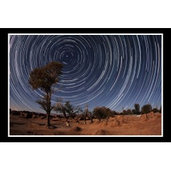 گردش ستاره ها در آسمان